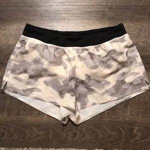 Reebok Camo running shorts